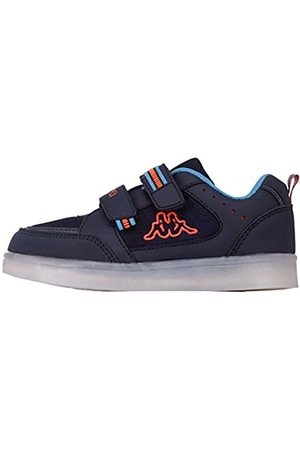 Kappa Masper Kids, Zapatillas Unisex Niños, (Navy/Orange 6744)