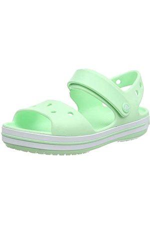 Crocs Crocband Sandal Kids, Sandalia con Pulsera Unisex Niños, (Neo Mint 3ti)