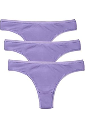 IRIS & LILLY Tanga Body Smooth Mujer, Pack de 3
