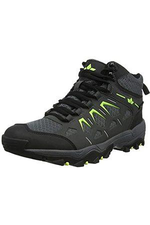 LICO Sierra, Zapatos de High Rise Senderismo para Hombre, Anthrazit/Lemon