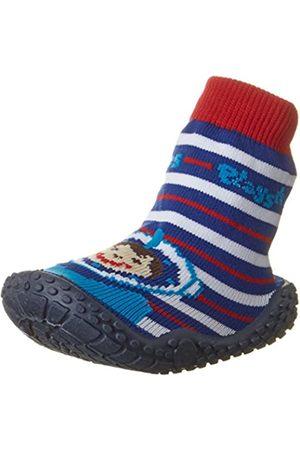 Playshoes Calcetines de Playa con protección UV Buzo, Zapatos de Agua Unisex Niños, (Rot 8)