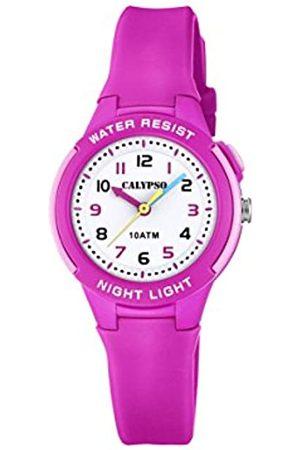 Calypso Reloj Analógico para Unisex Niños de Cuarzo con Correa en Plástico K6069/1