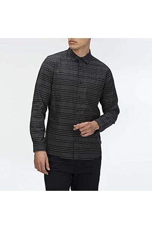 Hurley M Armstrong Stretch LS Woven Camisa, Hombre