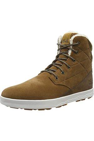 Jack Wolfskin Auckland WT Texapore High M Wasserdicht, Zapatos Rise Senderismo para Hombre, Desert Brown/White 5215