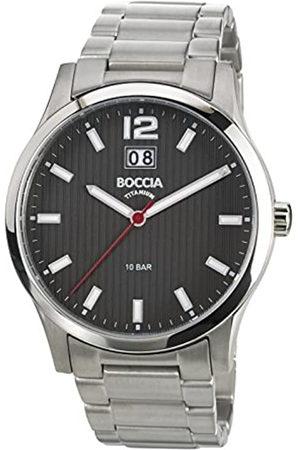 Boccia B3580-02 - Reloj de Cuarzo para niño, con Correa de Titanio