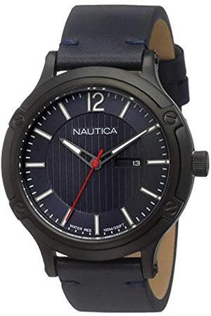 Nautica RelojAnalogicoparaHombredeCuarzoconCorreaenCueroNAPPRH017