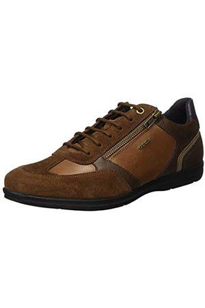 Geox U Adrien C, Zapatos de Cordones Oxford para Hombre, (Browncotto C6003)