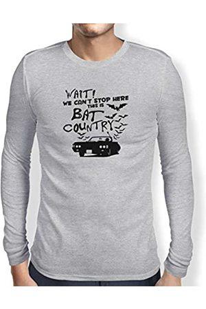 Texlab Bat Country-Herren Langarm T-Shirt Camiseta, Hombre