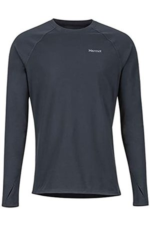 Marmot Lightweight Kestrel LS Crew - Camiseta Interior para Hombre, Hombre, 10910-001-6-XL
