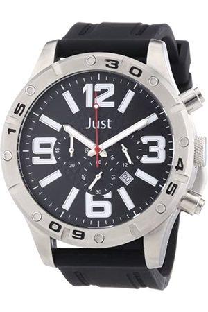 Just Watches 48-S3978-BK - Reloj analógico de Cuarzo para Hombre