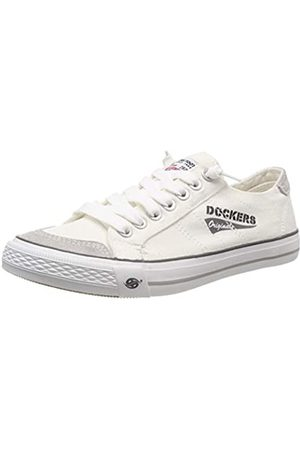 Dockers 30st027-790500, Zapatillas para Hombre, (Weiss 500)