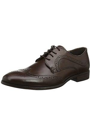 Red Tape Mottram Zapatos de Vestir hombre, (Brown)