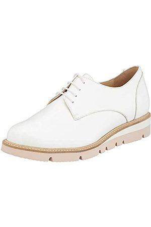 Sioux Meredith-716-h, Zapatos de Cordones Derby para Mujer, (Weiss 001)