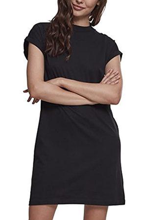 Urban classics Ladies Turtel Extended Shoulder Dress Vestido