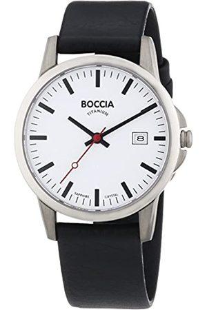Boccia B604-18 - Reloj de Cuarzo para niño, con Correa de Cuero
