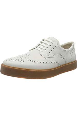 Clarks Hero Limit, Zapatos de Cordones Derby para Hombre, (White Leather White Leather)