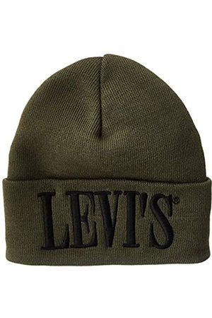 Levi's Levis Footwear and Accessories Serif Logo D0 Beanie Gorro de Punto