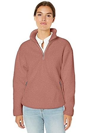 Daily Ritual Teddy Bear Quarter Zip Jacket Outerwear-Jackets