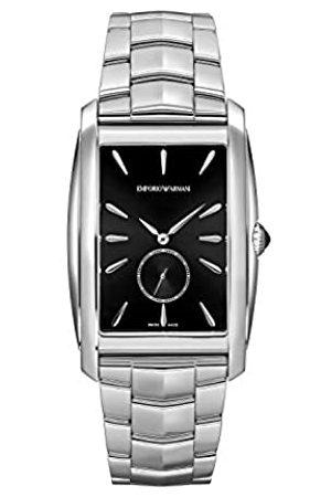 Emporio Armani Reloj Analógico para Hombre de Cuarzo con Correa en Acero Inoxidable ARS8350