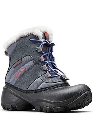 Columbia Childrens Rope Tow III Waterproof, Botas de Nieve para Niñas, (Ti Grey SteelRed Canyon)