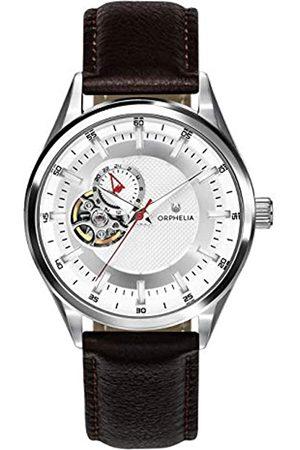 ORPHELIA Reloj Analógico para Hombre de Automático con Correa en Cuero OR91800