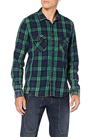 LTB Jeans Bria Camisa, (Green Check Wash 51953)