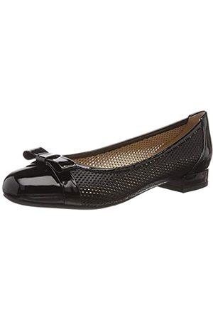 Geox D Wistrey 02, Bailarinas para Mujer, (Black C9999)