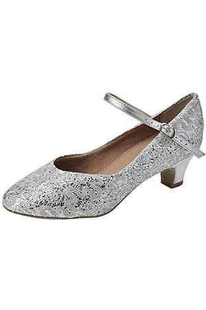 So Danca Bl116, Zapatos de Baile de Sociedad y Latina para Mujer, (Silver Sparkle Silver Sparkle)