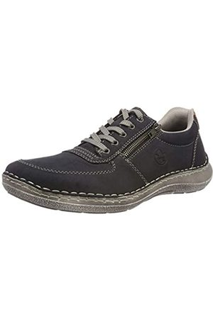 Rieker 03030-14, Zapatos de Cordones Derby para Hombre, (Pazifik/Amaretto 14)