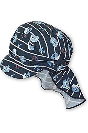 Sterntaler Gorra Unisex con protección de cuello para bebé 2501890, Talla 51