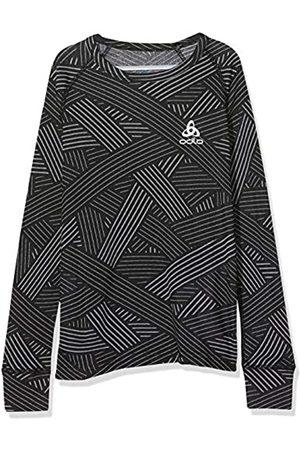 Odlo Camiseta Interior niños con Cuello Redondo L/S Active Warm Trend Kids, Infantil, 150519