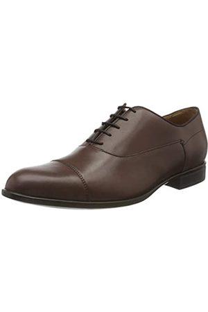 Geox U Iacopo B, Zapatos de Cordones Oxford para Hombre, (Brown C0013)