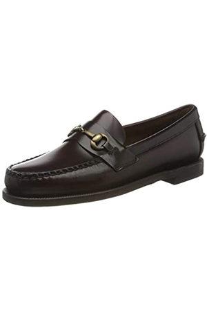 SEBAGO Classic Joe W, Mocasines (Loafer) para Mujer, (Brown Burgundy 903)