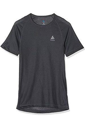 Odlo BL Top Crew Neck s/s Active Cubic Light Camiseta, Hombre