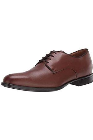 Geox U Iacopo C, Zapatos de Cordones Derby para Hombre, (Cognac C6001), 43