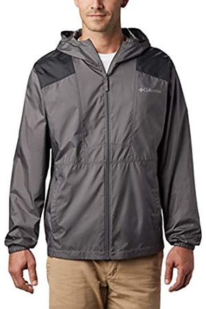 Columbia Flashback Chaqueta Cortavientos, Hombre, / (City Grey/ (Shark)