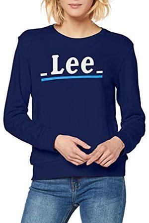 Lee Crew Logo Lines Sudadera