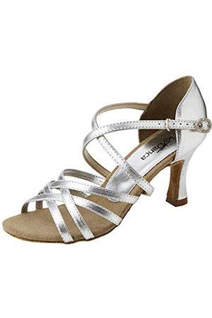 So Danca Bl164, Zapatos de Baile de Sociedad y Latina para Mujer, (Silver Silver)