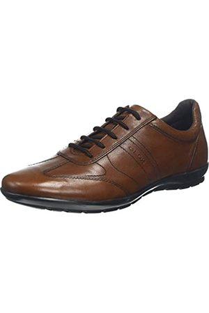 Geox Uomo Symbol B, Zapatos de Cordones Oxford para Hombre, (Browncotto C6003)