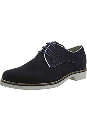 Bugatti 311416011400, Zapatos de Cordones Derby para Hombre, (Blue 4000)