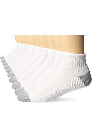 Amazon 10-Pack Cotton Half Cushioned Ankle Socks Casual