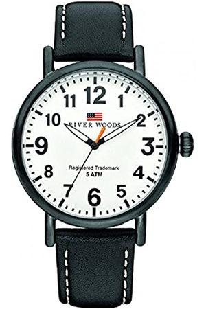 River Woods Reloj Analógico para Hombre de Cuarzo con Correa en Cuero RW420008