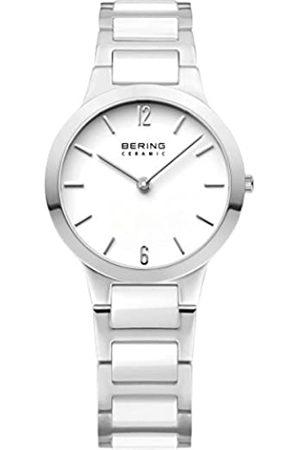 Bering Reloj Analógico para Mujer de Cuarzo con Correa en Acero Inoxidable 30329-754