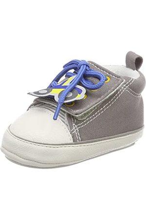 Sterntaler Baby-Schuh, Zapatillas para Bebés, Grau (Steingrau)