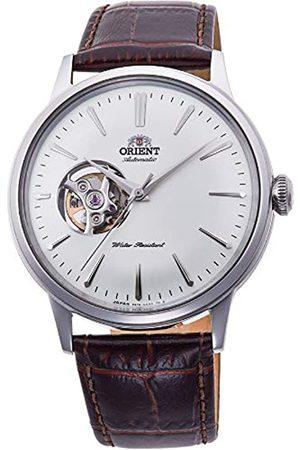 Orient Reloj Analógico para Unisex Adultos de Automático con Correa en Cuero RA-AG0002S10B