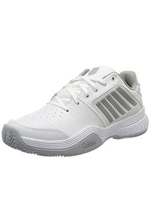 K-Swiss Court Express HB, Zapatillas de Tenis para Mujer, (White/Highrise/Silver 150)