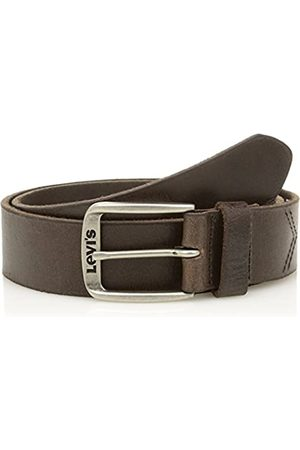 Levi's Classic Top Logo Buckle, Cinturón Hombre, (Dark Brown)