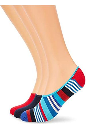 Happy Socks 3-Pack Multi Stripe Liner Sock Calcetines