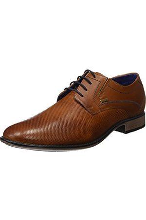 Bugatti 311253052100, Zapatos de Cordones Derby para Hombre, (Cognac 6300)