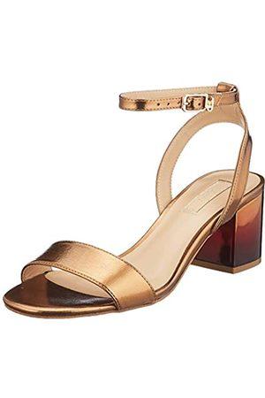 Liu Jo Shoes Thelma 01-Sandal, Sandalias con Punta Abierta para Mujer, (Brass S1805)
